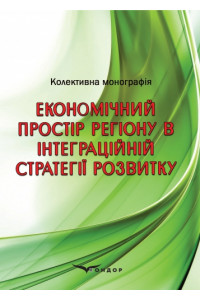 Економічний простір регіону в інтеграційній стратегії розвитку: колективна монографія